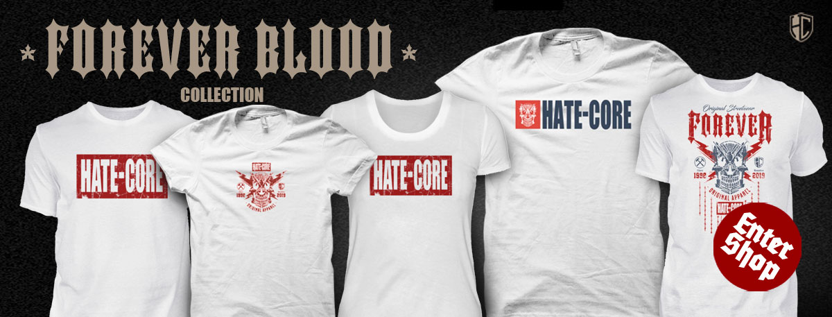 HATE-CORE STREETWEAR BLACK&GOLD Collection